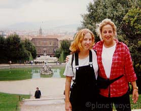 Us in the Boboli Gardens