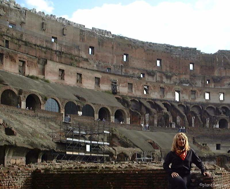 Me in the Coliseum