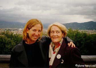 Netta and Itala above the Ponteveccio