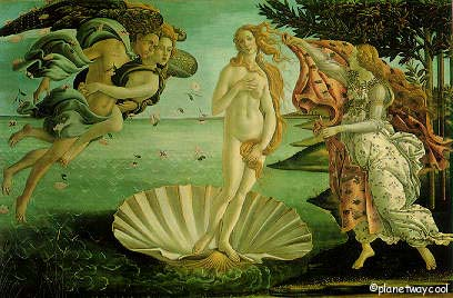 Bottecelli's Birth of Venus >  There was not much else worth it in the museum,  that's my opinion, even Bottecelli's