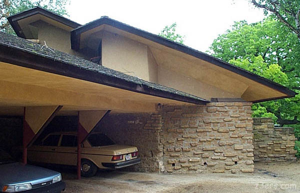 Hey Cool Frank Lloyd Wright Garage Pics