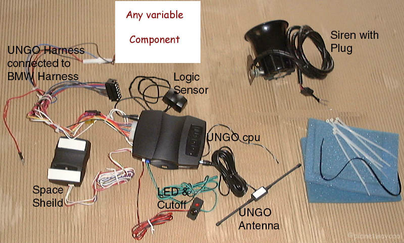 Book Of UNGO Ungo Car Alarm Wiring Diagram on