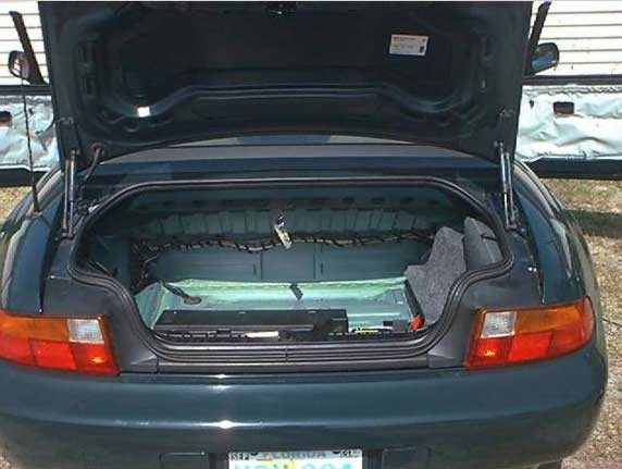 Bmw Z3 Trunk Leak