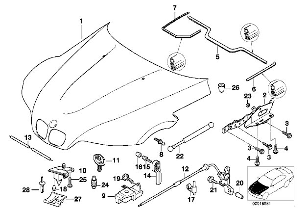 1997 bmw 328i vacuum diagram